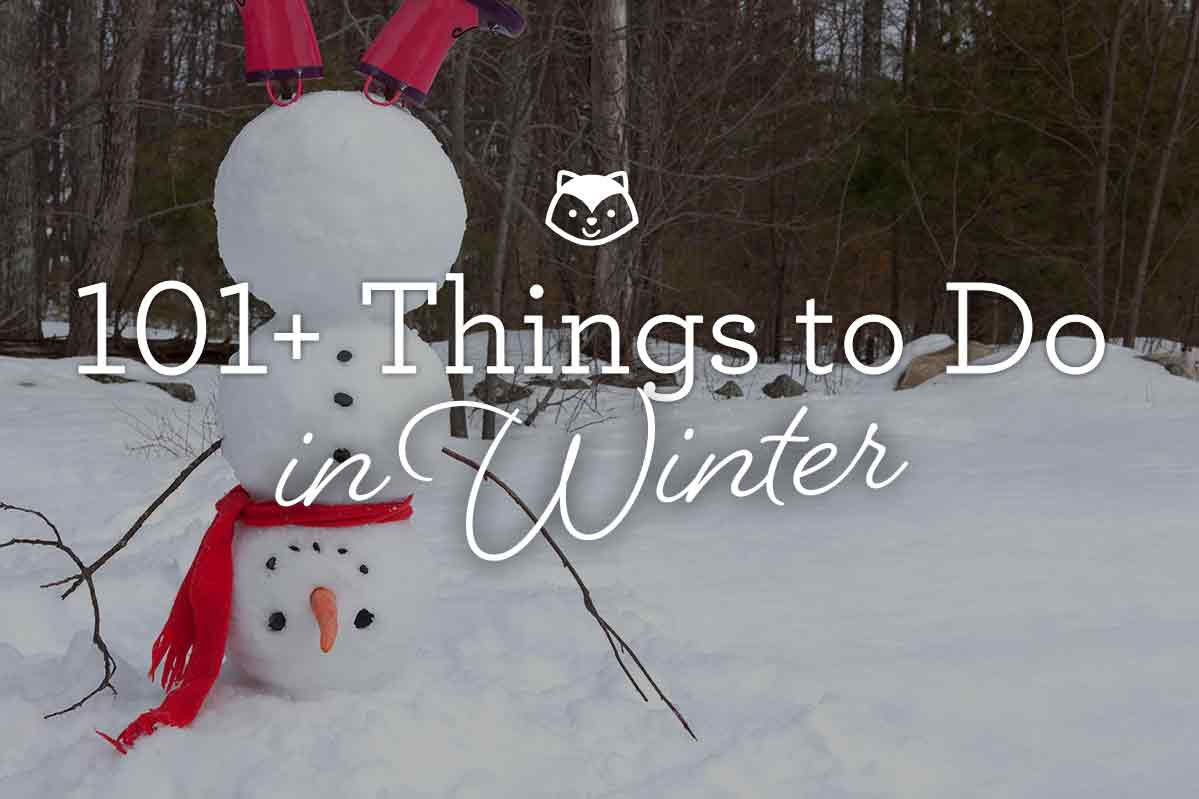 101 Things To Do Winter