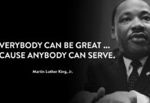 Image result for mlk quote about service Martin Luther King, Jr.