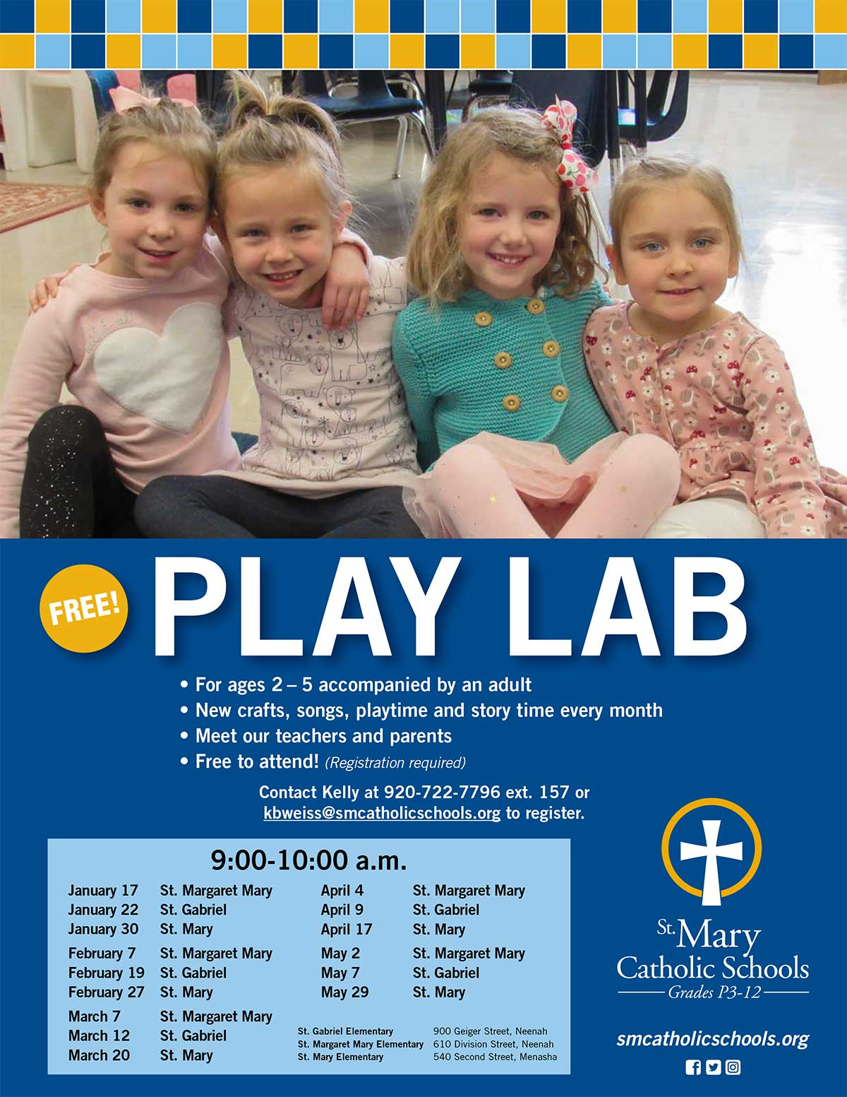 Play Lab St Mary Catholic Schools