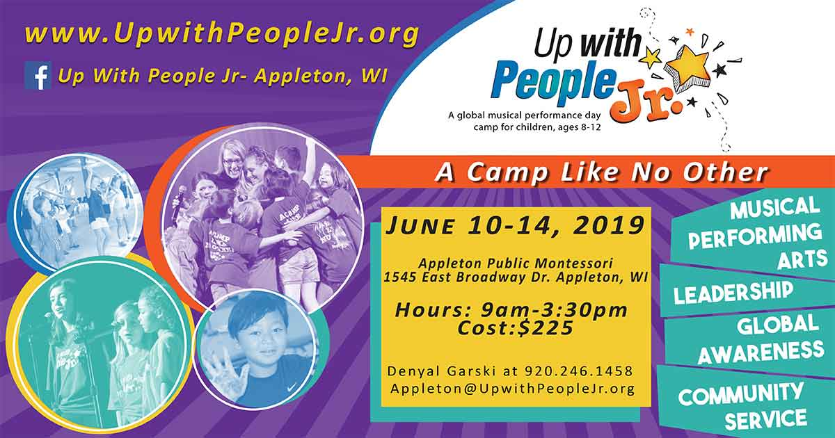 Up With People Appleton Music Summer Camp