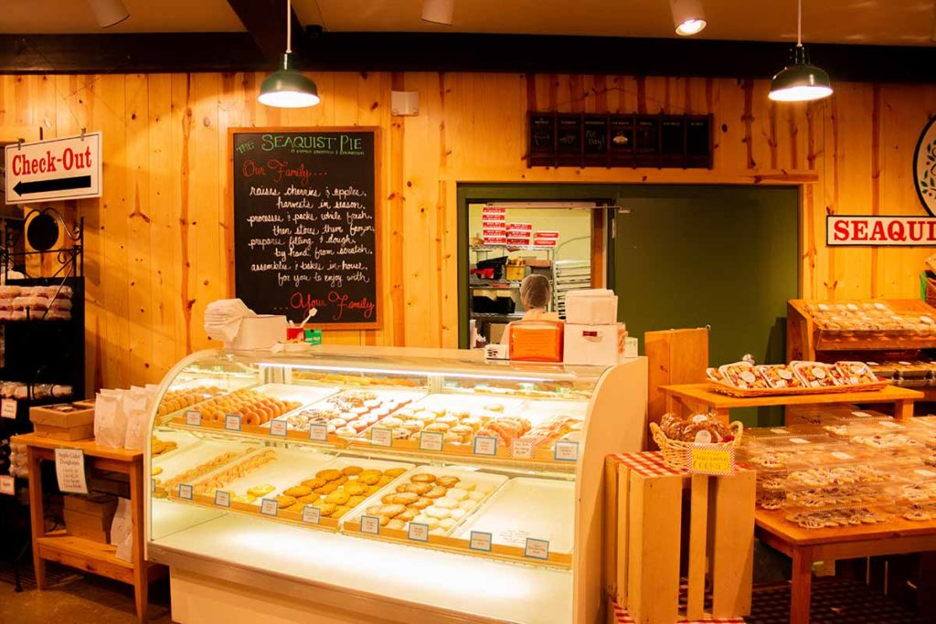Seaquist Orchards Farm Market, Egg Harbor, Door County