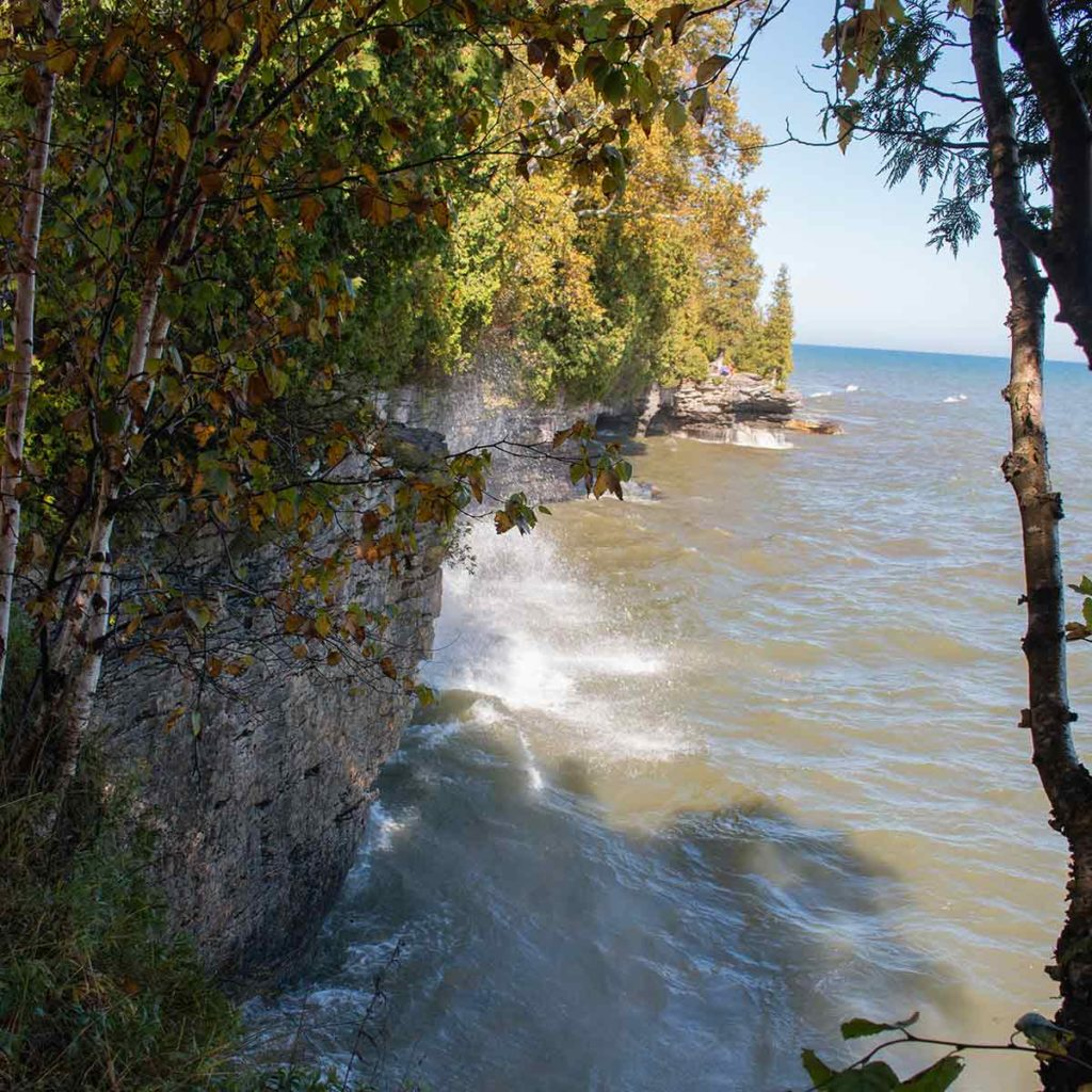 Cave Point County Park, Door County