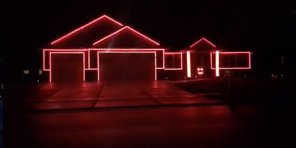 Ryford St Menasha Halloween Lights