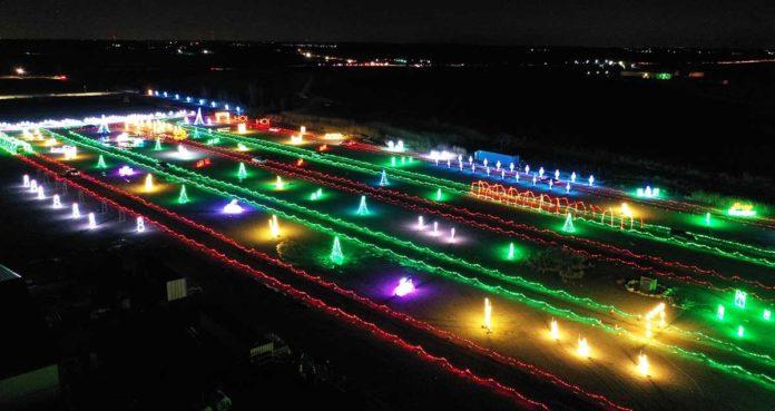 Brown County Fairground Christmas Lights