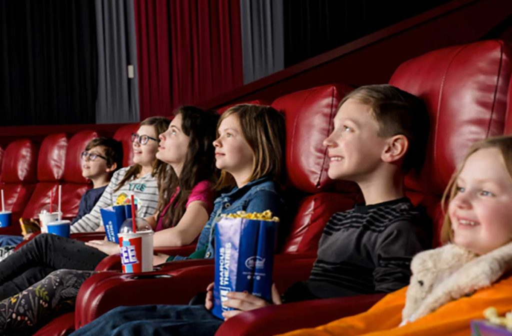 Family movie days at marcus theatres