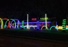 christmas light display chilton