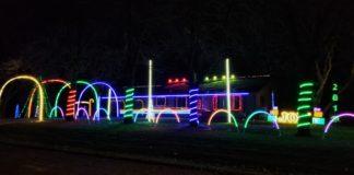 christmas light display chilton