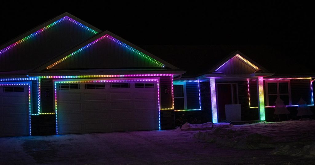 Ryford St., Menasha Christmas Lights