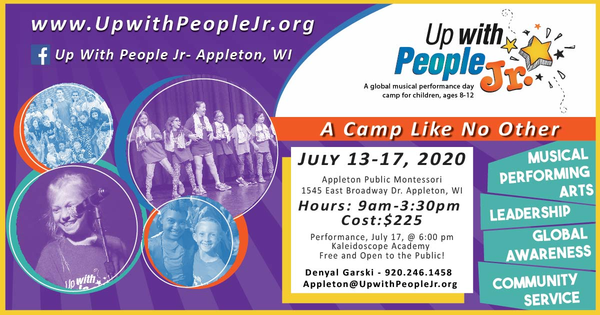 Up with People Jr Appleton