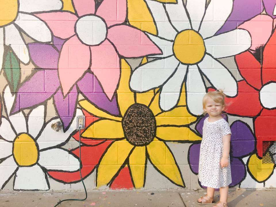 Sunset Park kimberly mural wisconsin