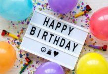 Celebrating Birthdays at Home