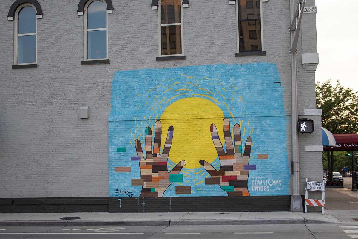 Mural downtown Appleton