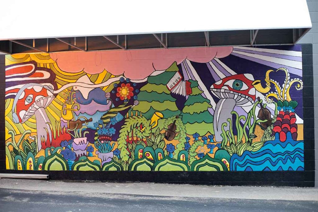 Mural in Appleton