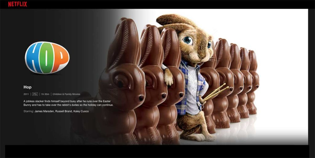 Hop Easter Movie on Netflix