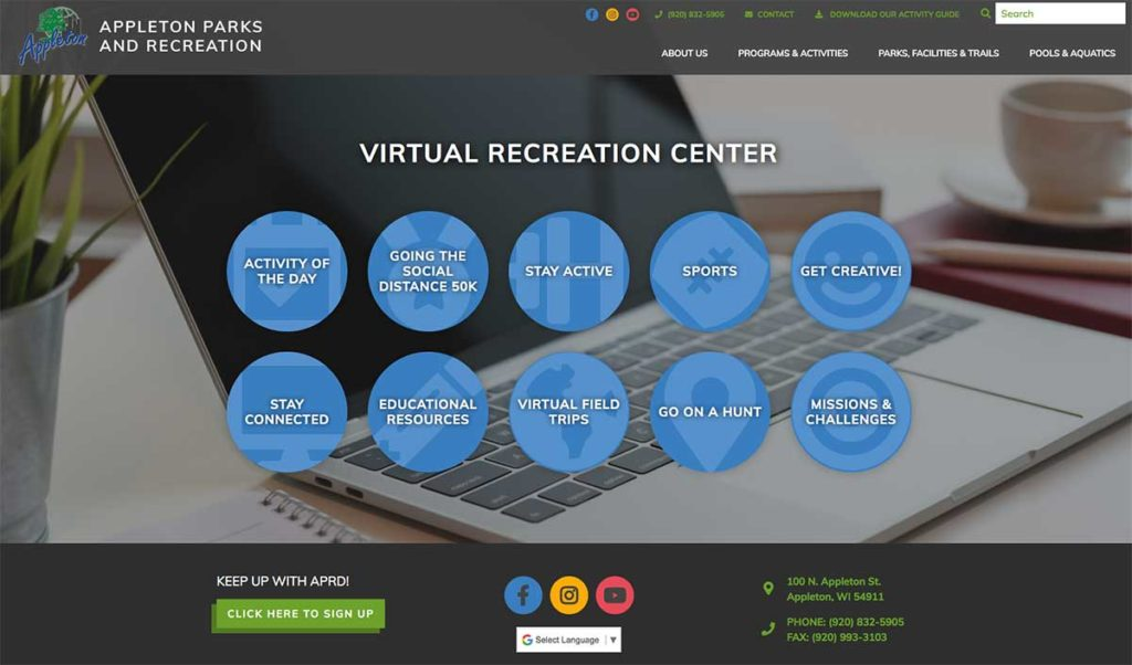 Appleton Parks & Recreation Virtual