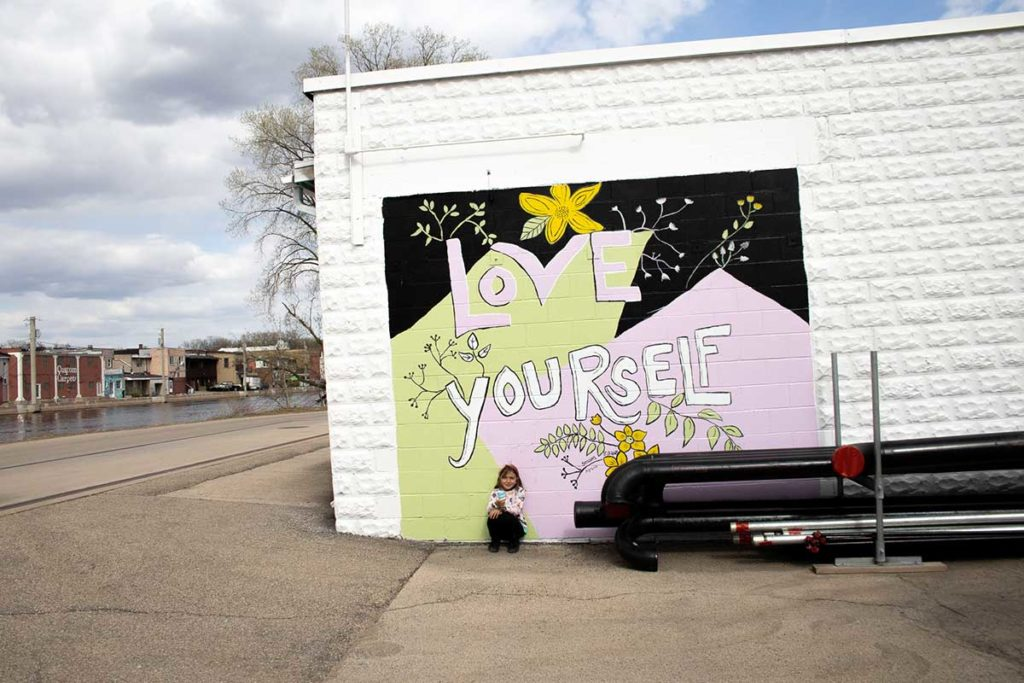 Love Yourself New London Mural