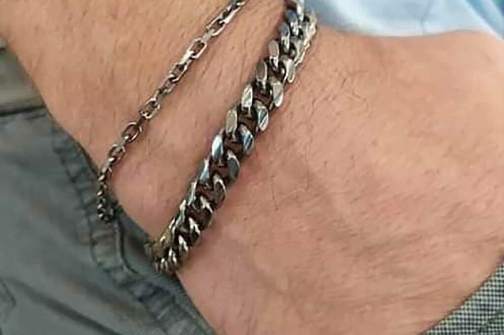 Men's chain bracelets from Avenue Jewelers