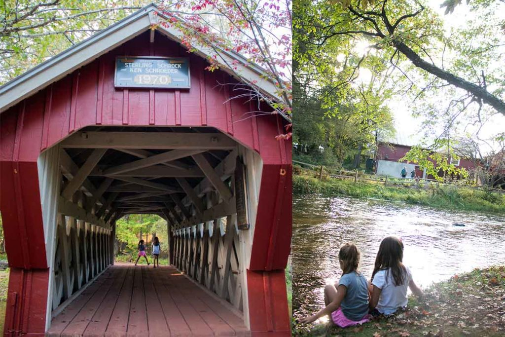 Red Covered Bridge at Red Mill Waupaca