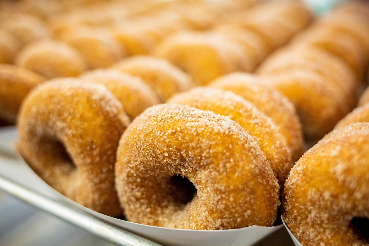 Wisconsin Apple Cider Donuts