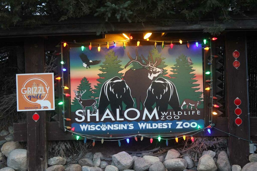 shalom wildlife zoo christmas lights