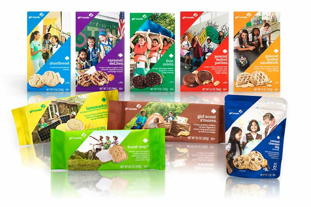 Buy Girls Scout Cookies Wisconsin