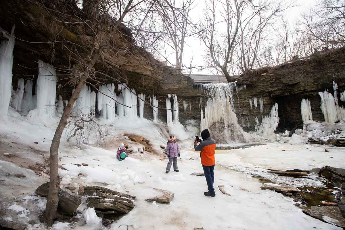 wequiock falls waterfall