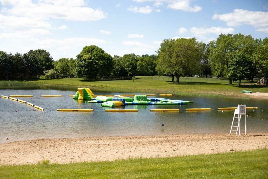 Plamann Park Lake Appleton