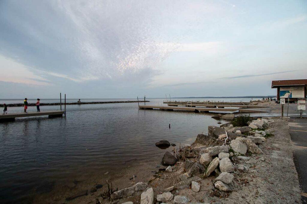 Bay Shore Park in New Franken