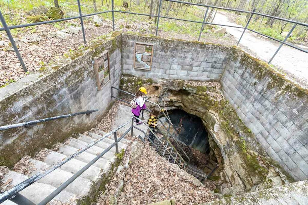 Cave Tours at Ledge View Nature Center in Chilton
