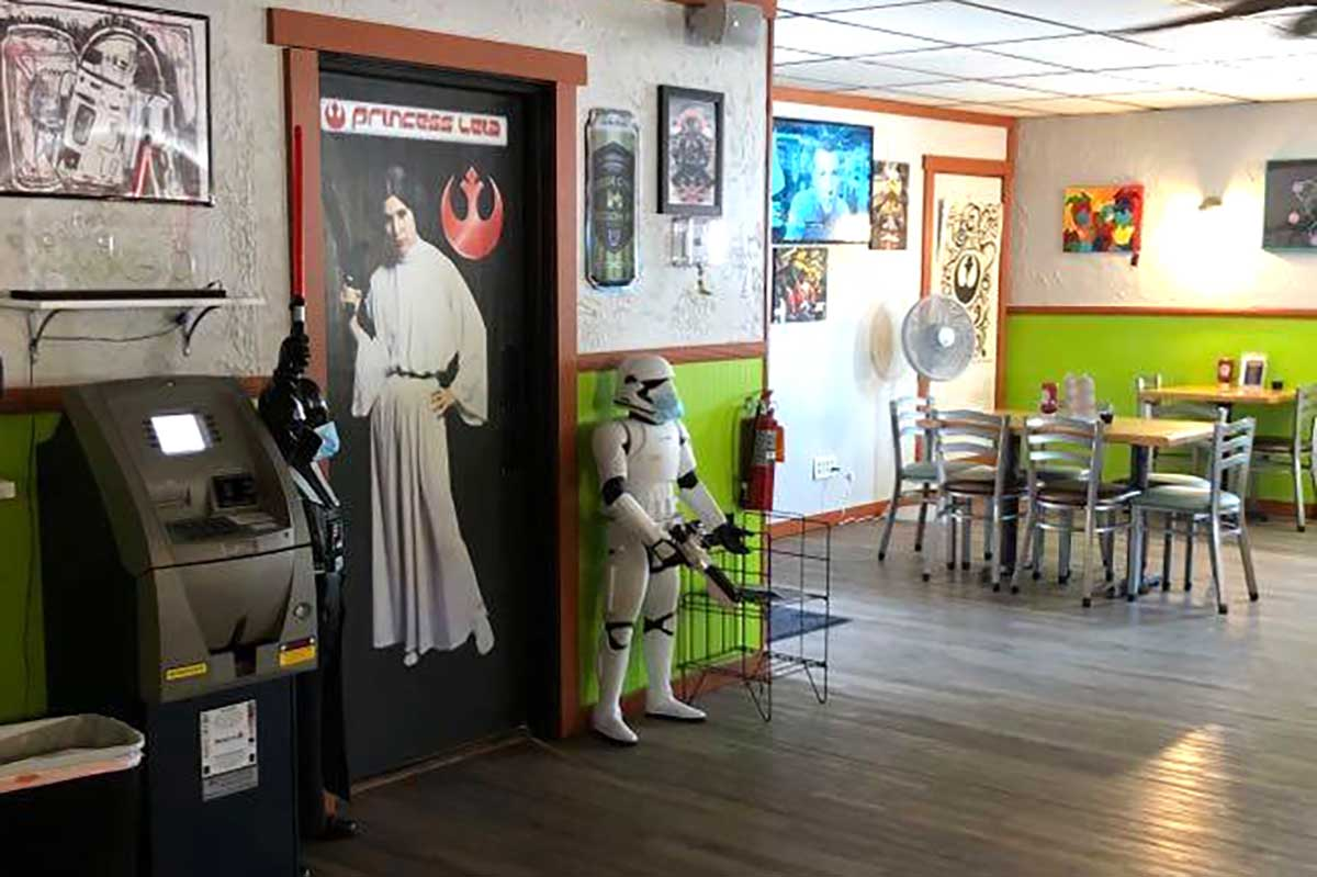 Star Wars themed restaurant in Green Bay