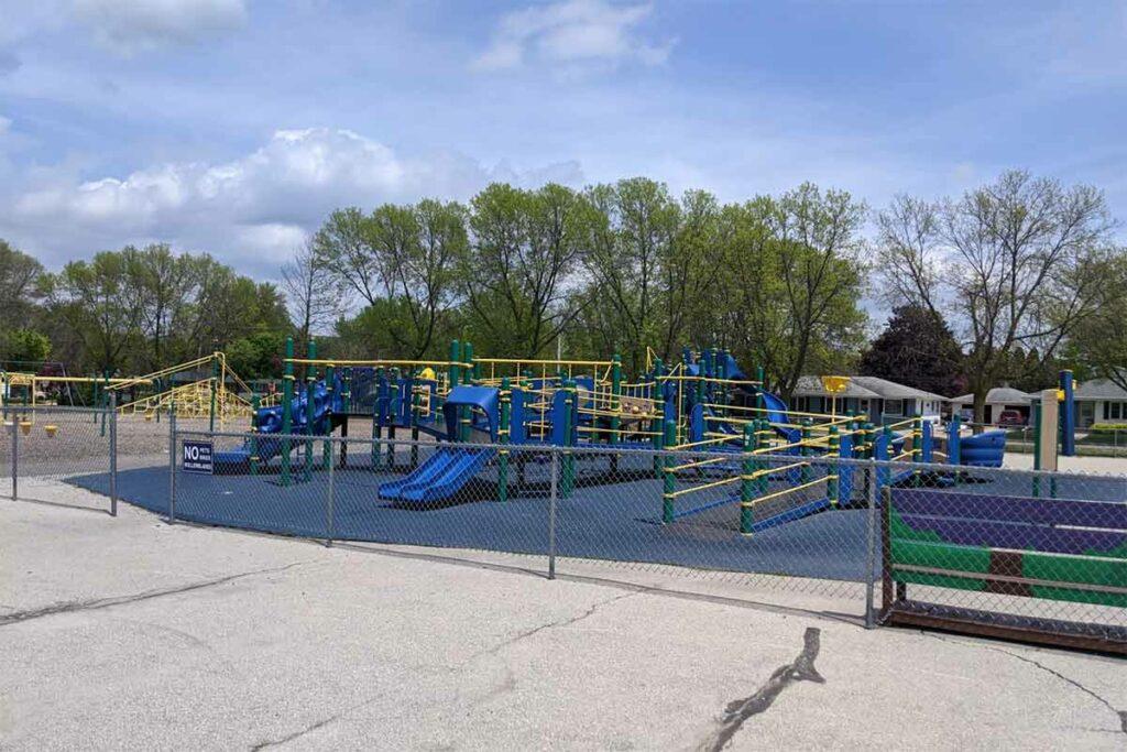 Electa Quinney Elementary School Playground