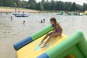 Plamann Park Lake Inflatables