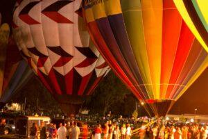 Burger Fest Hot Air Balloon Festival