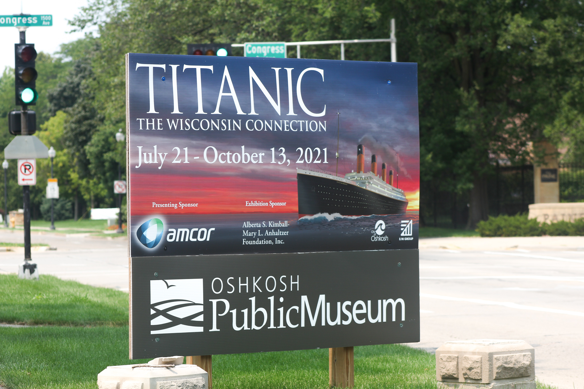 Titanic, the Wisconsin Connection at the Oshkosh Public Museum