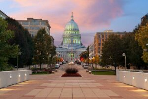 downtown madison capital building