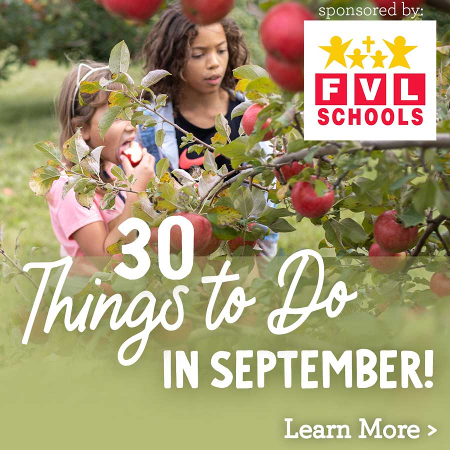 30 things to do in September including Apple Picking