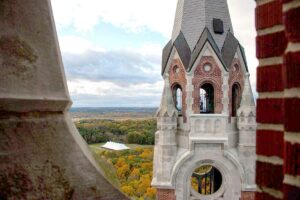 Holy Hill Wisconsin Fall Colors