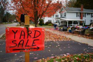 Fall Yard Sale Sign