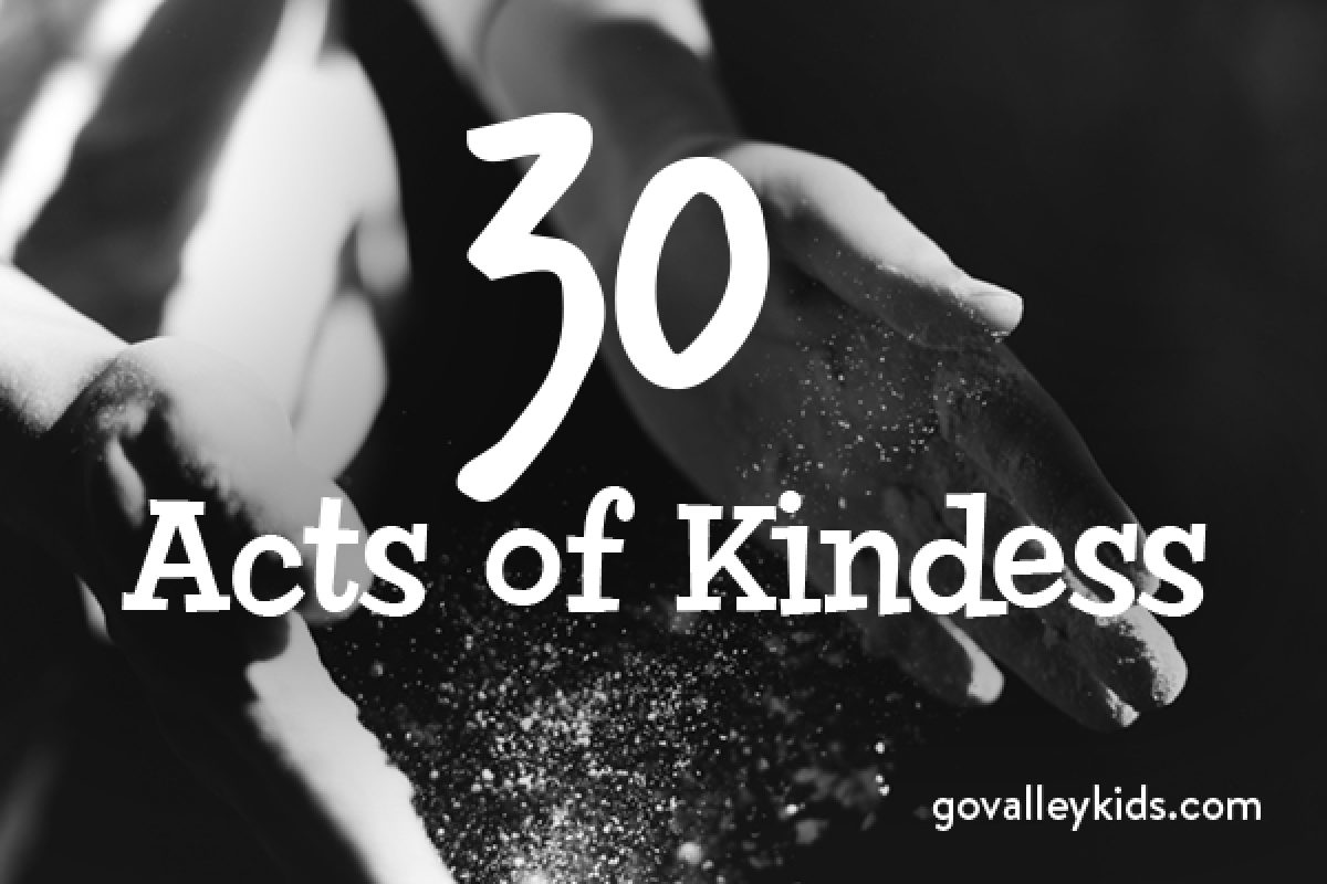 30 Acts of Kindness
