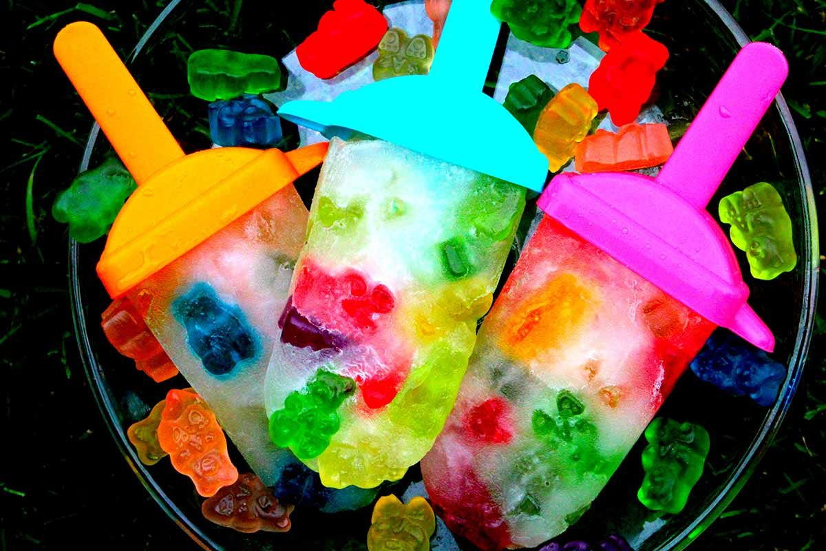 gummy bear popsicle recipe