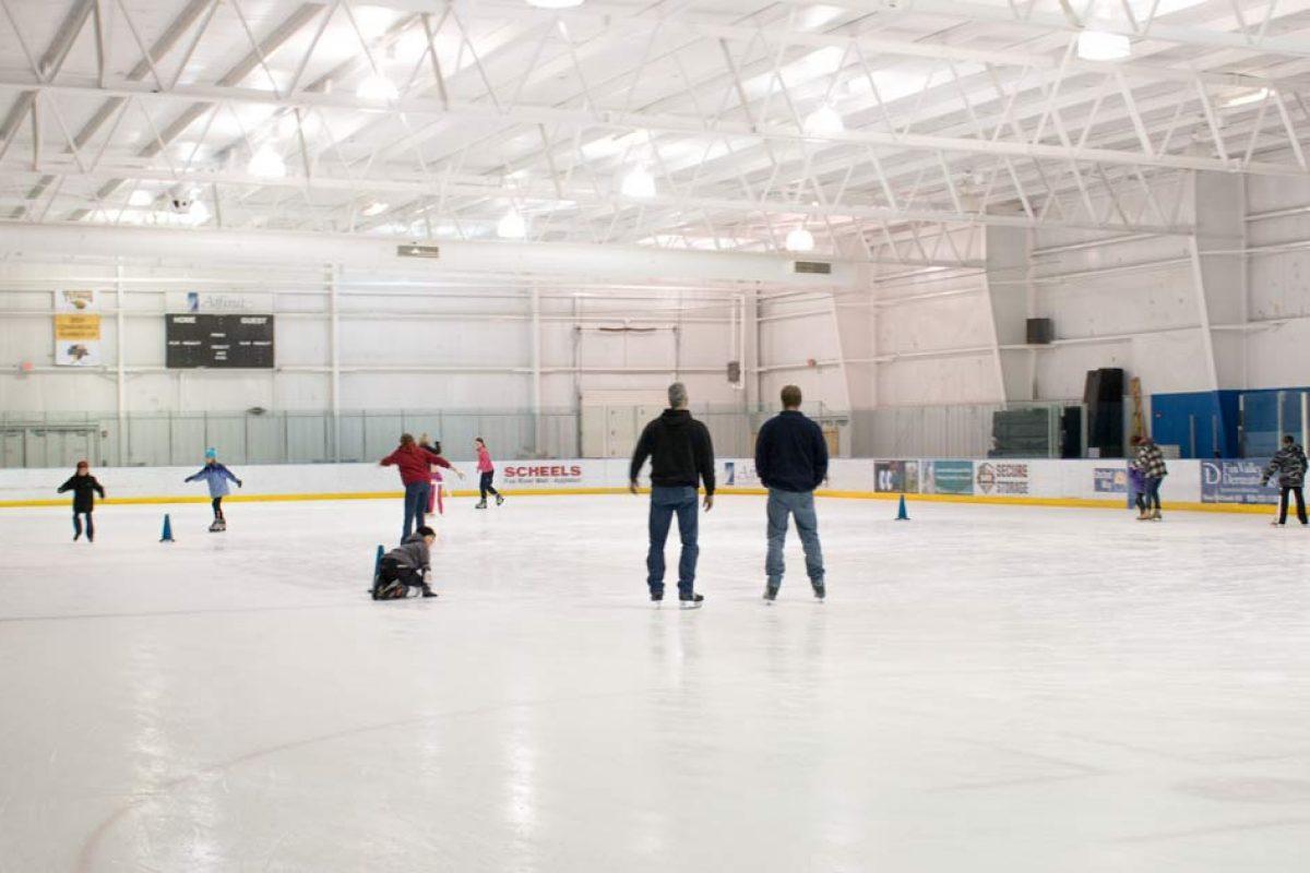Ice Skating at Oshkosh YMCA