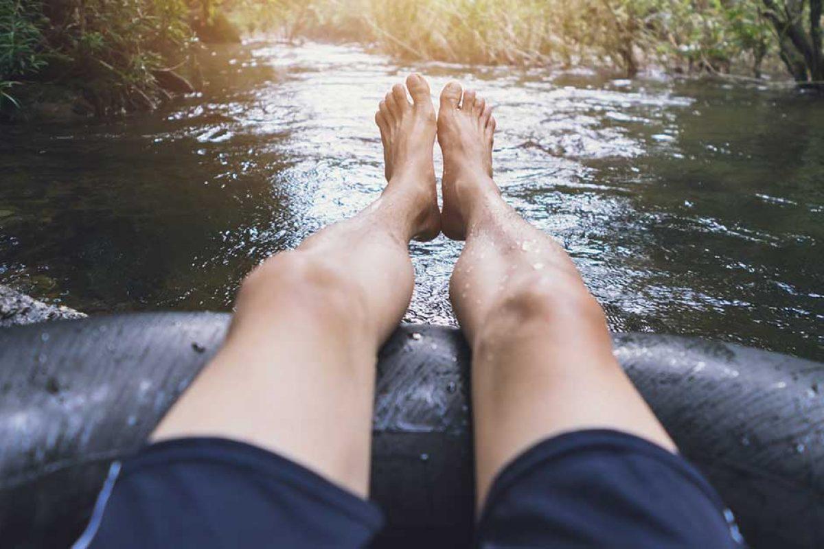 summer tubing in northeast wisconsin